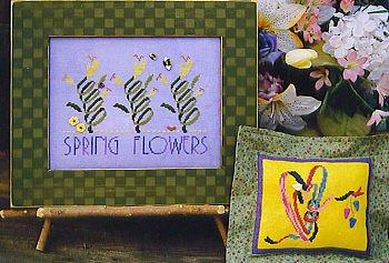 Spring flowers by Samsarah Design Studio