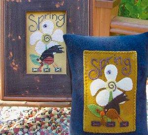 Spring robin by Samsarah Design Studio