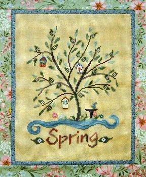 Spring tree house by Samsarah Design Studio