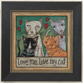 Love me, love my cat-ST150202- by Mill Hill