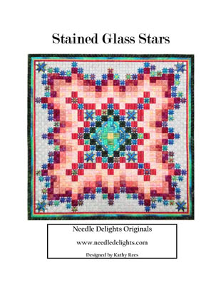 Stained Glass Stars by Needle Delights Originals