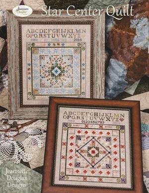 Jeannette Douglas Designs Star center quilt