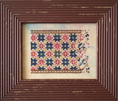 Lucy Beam Star Coverlet