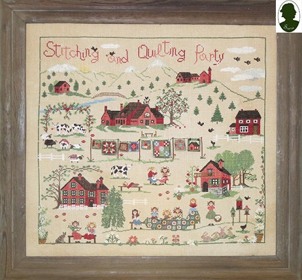Stitching and Quilting party by Sara Guermani