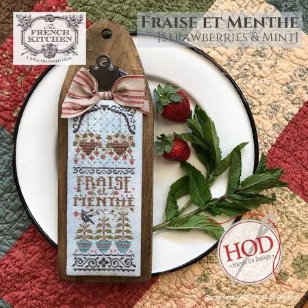 Hands on Designs Fraise et Menthe - Strawberries & Mint