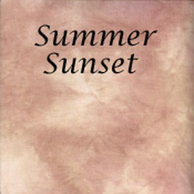 Silkweaver Fabric - Summer Sunset