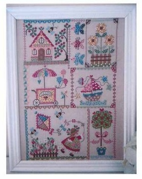 Summer in quilt by Cuore e Batticuore