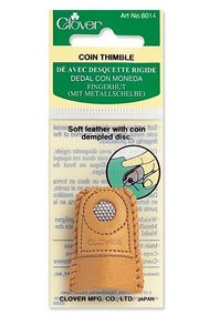 Double -sided Leather thimble by Clover