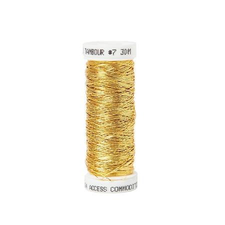 Gold Tambour #7 - Non-Tarnish,MET-4854