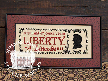 Summer House Stitche Workes The Great Emancipator