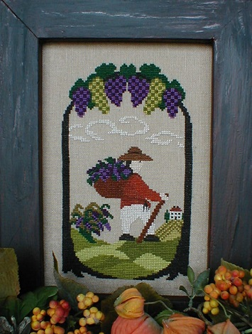 By the Bay Needleart The Gatherer Boy