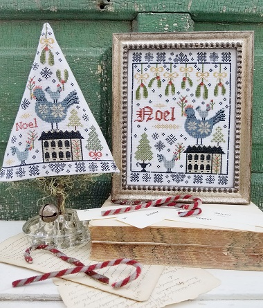 Third Day of Christmas Sampler & Tree by Hello from Liz Mathews!