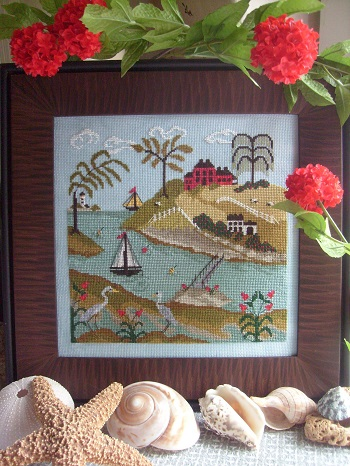 By the Bay Needleart Tidal River #1