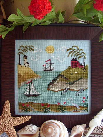 By the Bay Needleart Tidal River #2