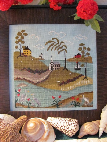 By the Bay Needleart Tidal River #3