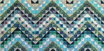Tropical seas by Needle Deligths Originals