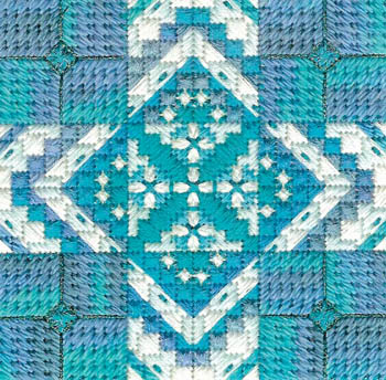Color Delights-Turquoise by Needle Delights Originals
