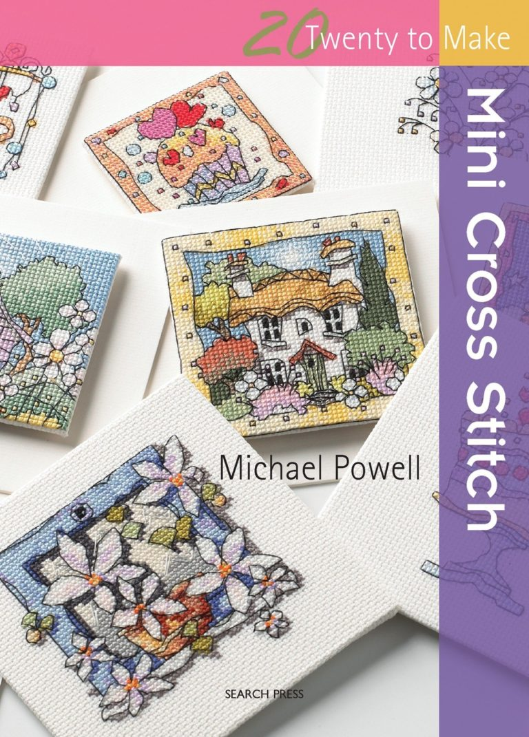 Michael Powell Mini Cross Stitch