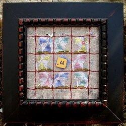 Samsarah Design Studio Alphabet Baubles -U is for umbrella