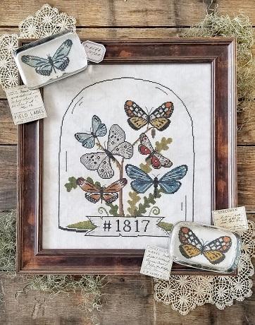 Hello from Liz Mathews Butterfly Cloche