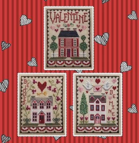 Waxing Moon Designs Valentine House Trio