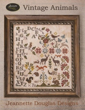 Vintage Animals by Jeannette Douglas Designs