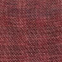 28CT OVERDYE GINGHAM LINEN NATURAL/AZTEC RED