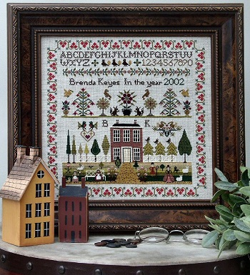 Country House sampler by The Sampler Company
