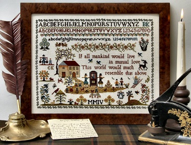 Town and Country Sampler by The Sampler Company