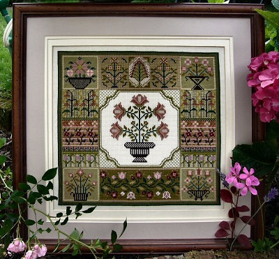The Floral Sampler by The Sampler Company