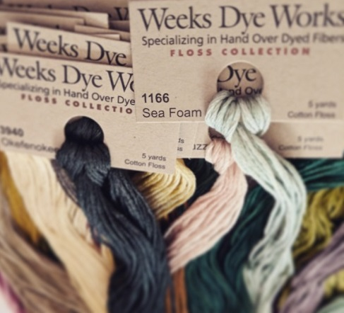 Weeks Dye Works 6 STRAND COTTONS