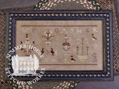 Summer House Stitche Workes We Gather Together