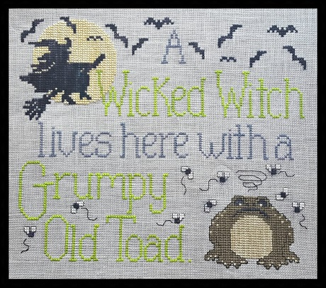 Waxing Moon Designs Wicked Witch & Grumpy Toad