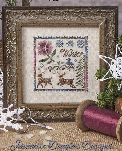 The Winter Deer by Jeannette Douglas Designs