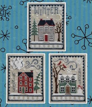 Waxing Moon Designs Winter House Trio