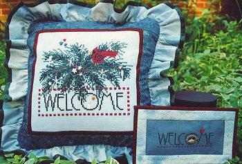 Winter welcome by Samsarah Design Studio