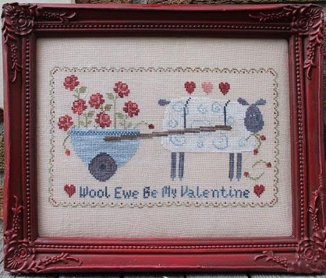 Thistles Wool Ewe Be My Valentine