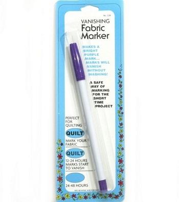 Vanishing Fabric Marker