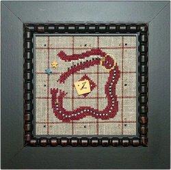Samsarah Design Studio Alphabet Baubles -Z is for Zipper