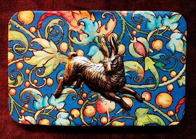 Rabbit needle box by Madame Needle